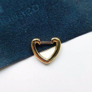 Apm Monaco FUN Single Heart Earring
